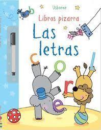 LIBROS PIZARRA. LAS LETRAS