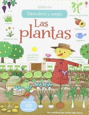 DESCUBRO Y PEGO. LAS PLANTAS