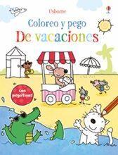 COLOREO Y PEGO. DE VACACIONES