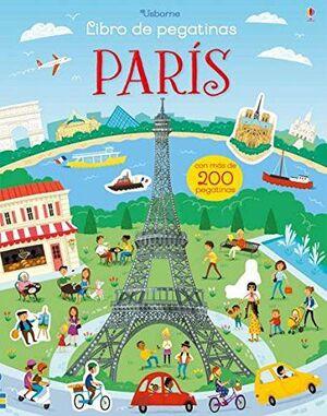 LIBRO DE PEGATINAS. PARIS