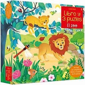 LIBRO Y 3 PUZLES. EL ZOO