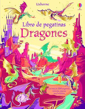 LIBRO DE PEGATINAS. DRAGONES