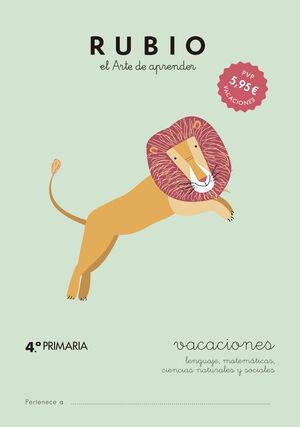 VACACIONES RUBIO (4º DE PRIMARIA)