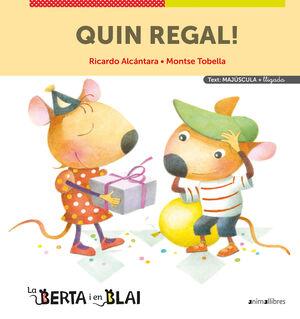 QUIN REGAL! (MAJÚSCULES + LLIGADA)