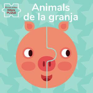EL MEU PRIMER LLIBRE PUZLE. ANIMALS DE LA GRANJA